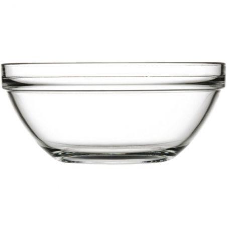 Miska szklana fi 230 mm, 2500 ml | Stalgast 400093