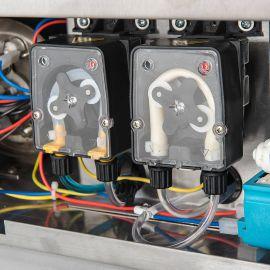 Zmywarka uniwersalna 400/230V z dozownikiem płynu myjącego | Stalgast 801506