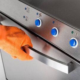Zmywarka uniwersalna 400/230V z dozownikiem płynu myjącego i pompą zrzutową | Stalgast 801507
